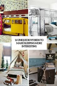 16 unique boys beds to make sleeping more interesting shelterness