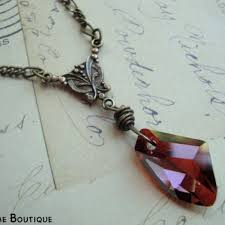 swarovski crystal stone necklace images The sorcerers stone harry potter necklace w red swarovski jpg