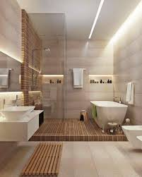 Modern Country Bathroom Beautiful Tranquil Use Of Materials Interioare