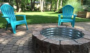 Make A Firepit Backyard Outside Pit Designs Outdoor Pit Small