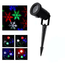 Outdoor Snow Light Projector by Dhl Free Outdoor Holiday Light Rgb Snowflake Projector Christmas