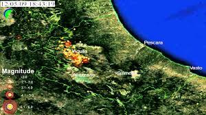 Italy Earthquake Map by Terremoto L U0027aquila Timelapse Earthquake Map Timelapse Italy Youtube