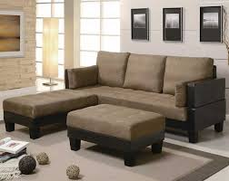 Beige Leather Sofas by Furniture Lovely Brown Microfiber Couch With Superb Color