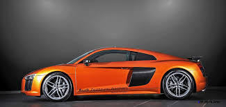 audi r8 wrapped 2016 audi r8 v10 copper
