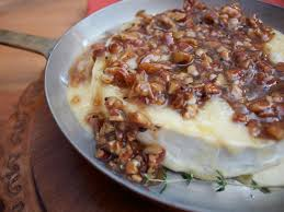 start your thanksgiving meal with maple pecan baked brie devour