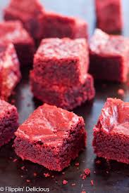 gluten free red velvet brownies food asc
