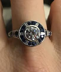 r2d2 wedding ring sapphire and diamond engagement ring on the rocks 70