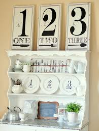 black and white hutch decor craft o maniac