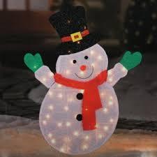 Outdoor Christmas Decorations International Shipping by Snowman Outdoor Christmas Decorations You U0027ll Love Wayfair