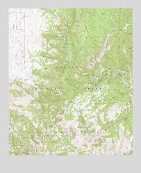 mt lemmon hiking trails map mount lemmon az topographic map topoquest