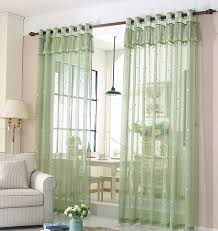Green Sheer Curtains Stunning And Quality Linen And Cotton Green Sheer Curtains