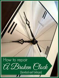 how to repair a broken clock reality daydream