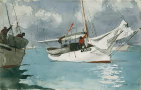 Homer Fishing Boats Key West Winslow Homer 10 228 1 Work Of Art