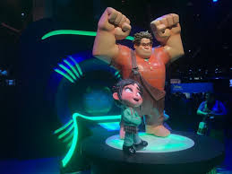 movies wreckit ralph footage revealed expo cheers massive