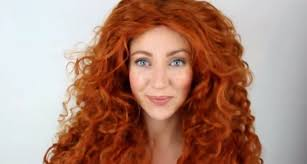 brave merida makeup tutorial transformation