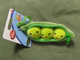 3 peas in a pod free keychain disneys story 3 peas in a pod plush brand