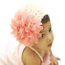big flower headbands d chica baby girl headbands with big flower dc022 at