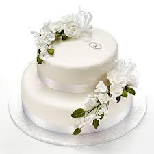 engagement cakes engagement cake 2 tier cake with flowers lankaeshop sri