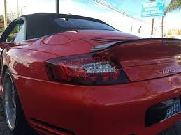 porsche 996 porsche 996 wide body led tail lights 996tt turbo c4s gt2 del