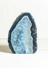 agate geode stone lamp crystal decor by soulmakes