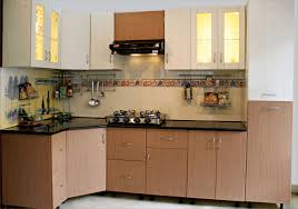 kitchen small modular kitchen decoration using black granite