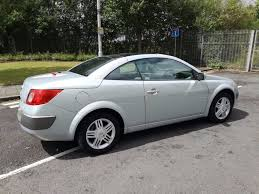 convertible 2004 renault megane 1 6 manual with 12 month mot px
