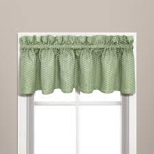 Valances For Kitchen Amazon Com United Curtain Hamden Woven Waffle Valance 57 By 14
