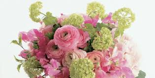 Lime Green Flowers - wedding blog flower color theory white red pink and green by