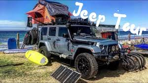 jeep camping mods a tour through our jeep wrangler overland vehicle part 1 youtube