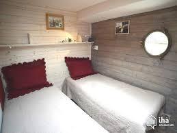 location chambre peniche location gîte péniche à agde avec 6 chambres iha 62547