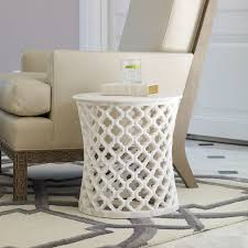 White Side Tables For Living Room Go To Website And Check Price Global Views Marble Arabesque
