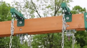 Heartland Swing Set How To Install Brackets For Horse Glider Swing Youtube