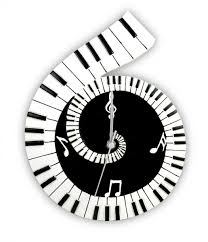 themed wall clock piano scroll wall clock themed clocks musical gifts online