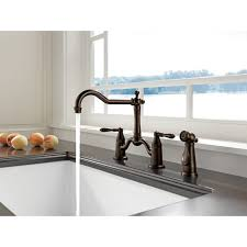 bridge kitchen faucet with side spray faucet 62536lf pn in brilliance polished nickel by brizo