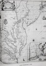 Map Of The State Of Virginia by Placing Pennsylvania On The Map The First Steps