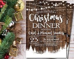 christmas dinner invitation christmas party invitations