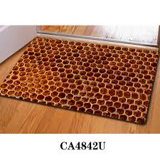 aliexpress com buy honeycomb 3d thin indoor mats rugs for home
