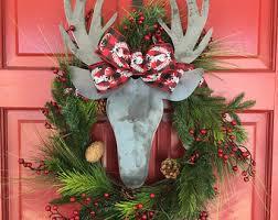 christmas wreaths christmas wreaths etsy
