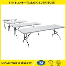 plastic folding tables adjustable height chinese factory 6ft adjustable height molded plastic top foldable