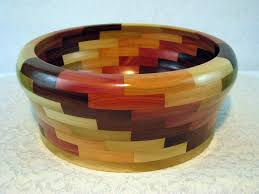 unique fruit bowl wooden bowl unique large wood bowl segmented wood bowl