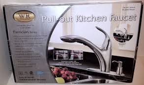 water ridge patrician series kitchen faucet brushed nickel ebay