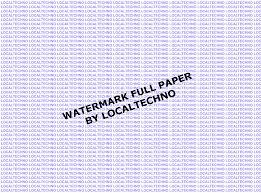 cara membuat tulisan watermark di excel cara membuat watermark full paper di msword by localtechno