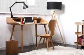 bureau bois design contemporain tiroirs verre bureau verre design contemporain bahbe com