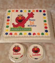 elmo birthday cakes our cake a slice of heaven bakery
