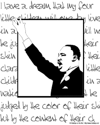 martin luther king jr day coloring pictures holidays net