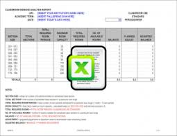 improvement report template capital plan templates capital planning budget