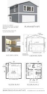 2 Car Garage Door Dimensions Home Plans With Apartments Attached With Ideas Picture 31901