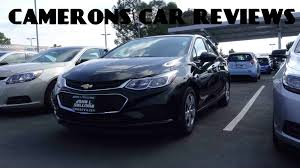 Chevy Cruze Ls Interior 2016 Chevrolet Cruze Ls 1 4 L 4 Cylinder Turbo Review Camerons