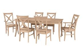 unfinished kitchen table and chairs 13600