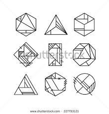 Art Deco Design Elements Abstract Art Deco Design Elements Stock Vector Illustration